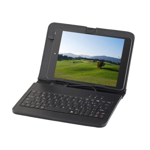"""Pouzdro na tablet s klávesnicí GoGEN univerzal 7,85"""", polohovací černé"""