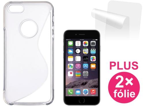 Connect IT pro iPhone 6 + 2ks ochranná fólie průhledný