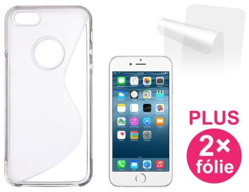 Connect IT pro iPhone 6 PLUS + 2ks ochranná fólie průhledný