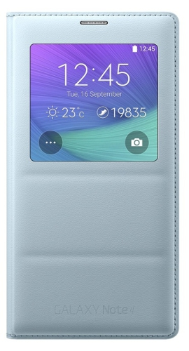 Samsung S-View pro Galaxy Note 4 (EF-CN910B) - mátová