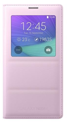 Samsung S-View pro Galaxy Note 4 (EF-CN910B) růžové
