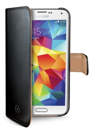 Celly WALLY pro Galaxy S5 mini černé