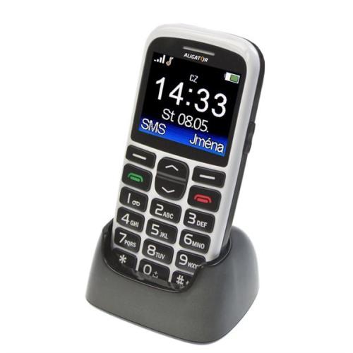 Aligator A680 + stojánek bílý + dárek