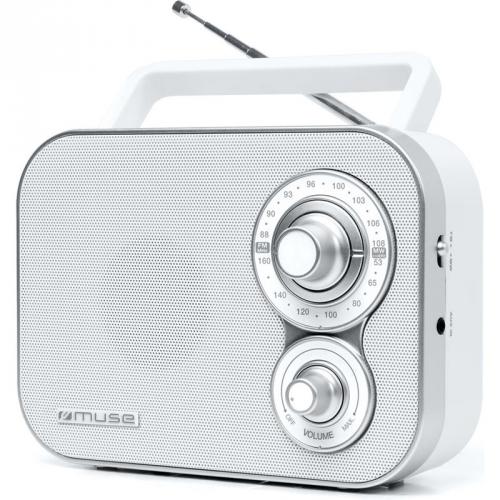 MUSE M-051 RW bílý
