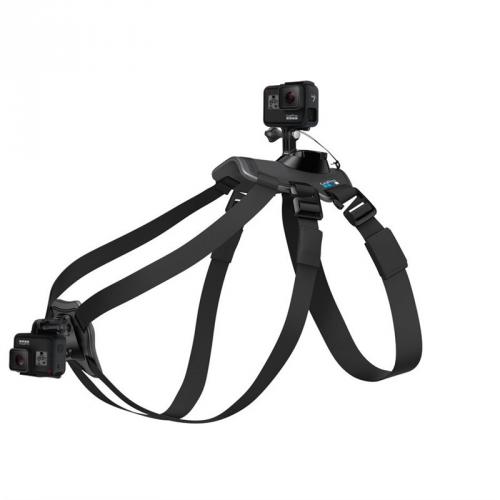 GoPro Fetch k uchycení kamery na psa černý