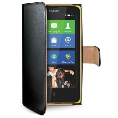 Celly WALLY pro Nokia Lumia 630/635 černé