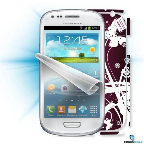 Screenshield ScreenShield fólie na displej + skin voucher (včetně popl. za dopravu k zákazníkovi) pro Samsung Galaxy S4 mini (i9195)