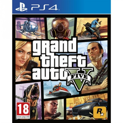 RockStar PlayStation 4 Grand Theft Auto V
