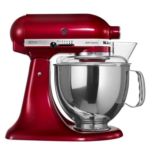 KitchenAid Artisan 5KSM150PSECA červený + dárek