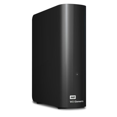 Western Digital Elements Desktop 5TB černý