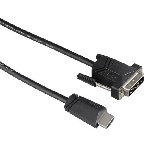 Kabel Hama HDMI / DVI, 3m, v1.3 černý