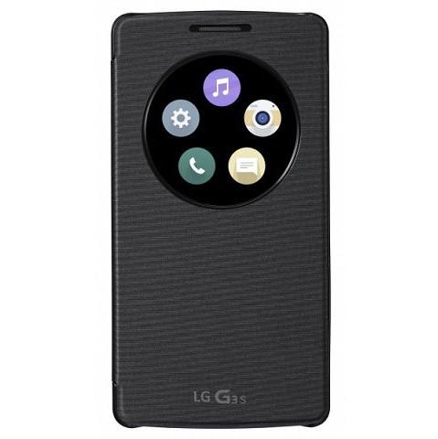 LG Quick Circle (snap on) pro LG G3s (CCF-490G) černé