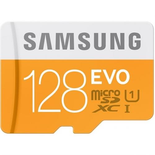 Samsung Micro SDXC EVO 128GB UHS-I U1 (48R/10W) + adaper