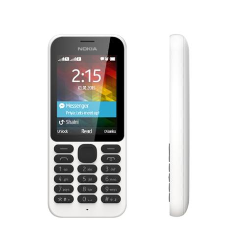 Nokia 215 DualSim bílý