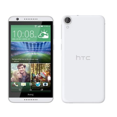 HTC Desire 820 šedý rámeček bílý