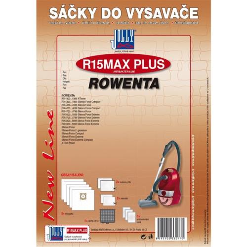 Sáčky do vysavače Jolly R 15 MAX PLUS ROWENTA