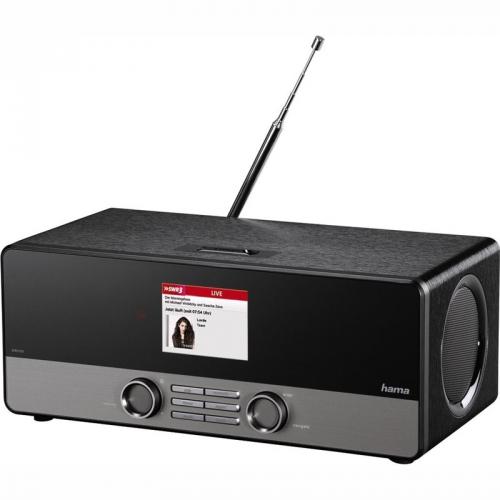 Hama DIR3100 DAB+ černý + dárek