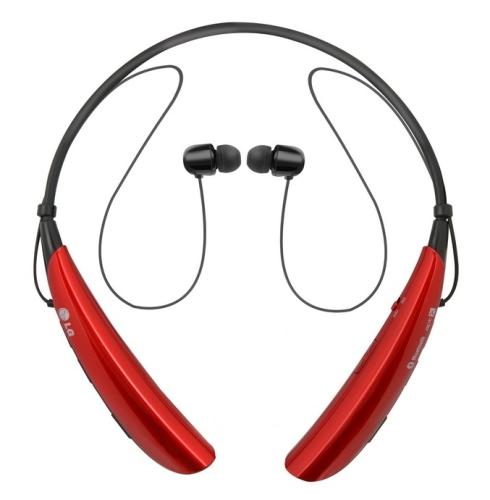 LG HBS 750 Tone Pro bezdrátová červená