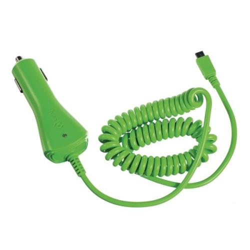 Celly microUSB, 1A zelená