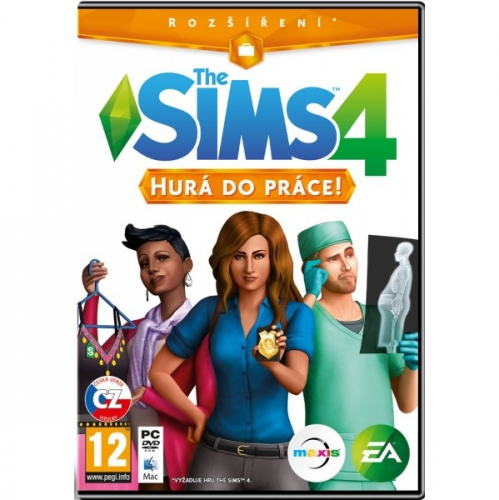 EA PC THE SIMS 4: Hurá do práce!