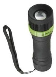 Fotografie LED svítilna plastová, 1W LED, na 3xAAA, FOKUS