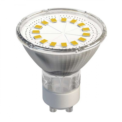 EMOS Dichroická 15 LED SMD 2835 4W GU10 teplá bílá