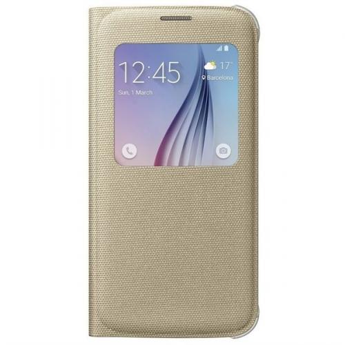 Samsung S-View pro Galaxy S6 (EF-CG920BF) zlaté