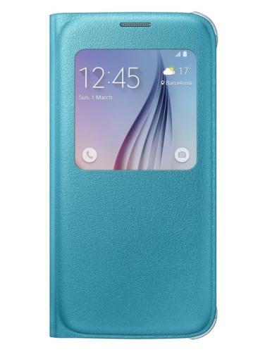 Samsung S-View pro Galaxy S6 (EF-CG920PL) tyrkysové