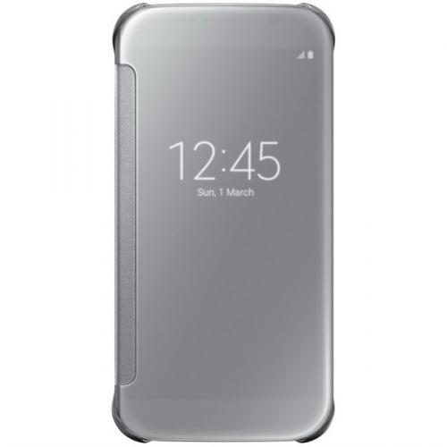 Samsung Clear View pro Galaxy S6 (EF-ZG920BS) stříbrné