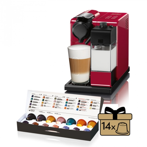 DeLonghi Nespresso Lattissima Touch EN550.R červené