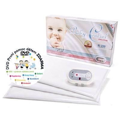 Baby Control BC-230, tři senzorové podložky