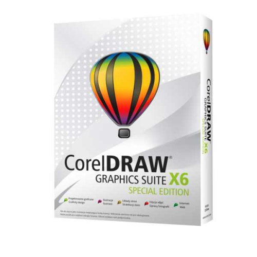 Corel Draw Graphic Suite X6 Special Edition CZPL EU
