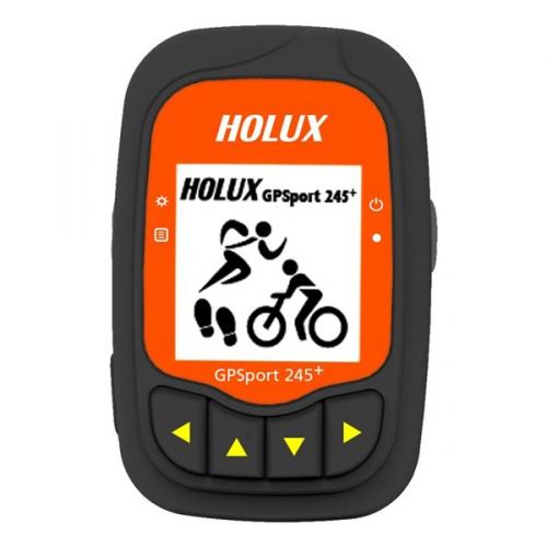 Holux GPSport 245 + Outdoor GPS computer černá/oranžová