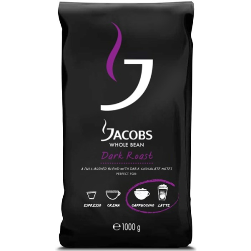 Jacobs Whole bean Dark roast 1000g