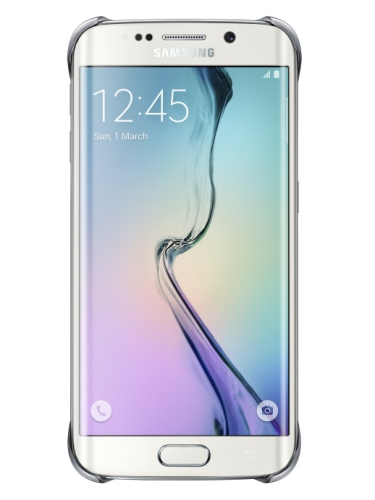 Samsung pro Galaxy S6 Edge (EF-QG925B) stříbrný