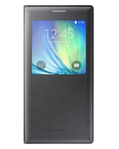 Samsung S-View pro Galaxy A7 (EF-CA700BW) černé