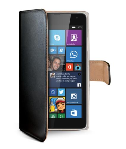 Celly WALLY pro Microsoft Lumia 535 černé