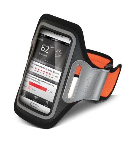 Celly Armband XXL oranžové