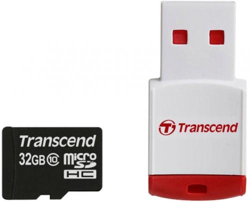 Transcend 32GB + USB čtečka