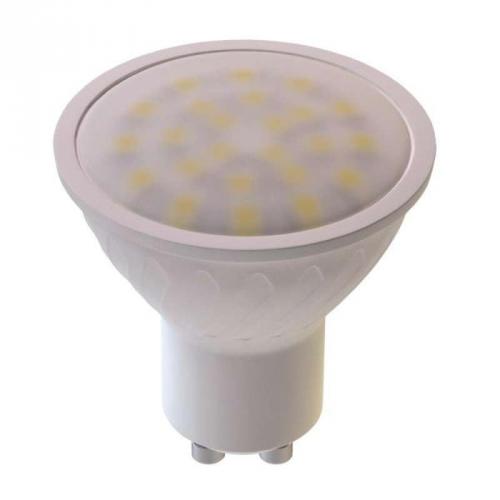 LED žárovka 7W GU10 teplá bílá
