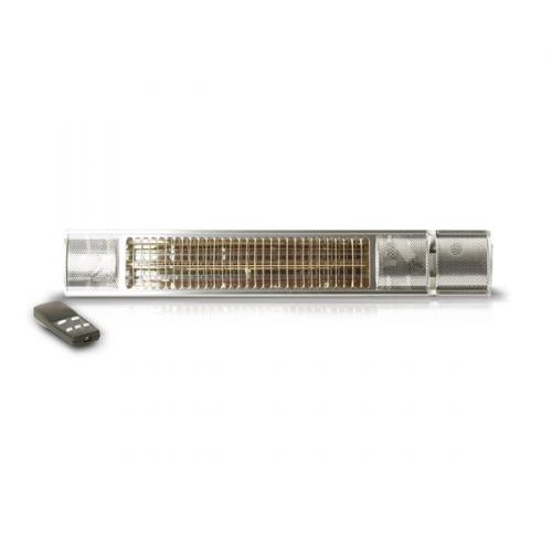 Zářič/ohřívač Bionaire SmartHeater 2,0 kW RC stříbrné