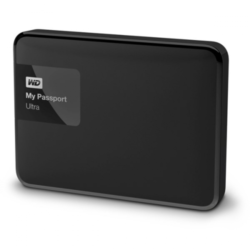 Western Digital My Passport Ultra 2TB černý