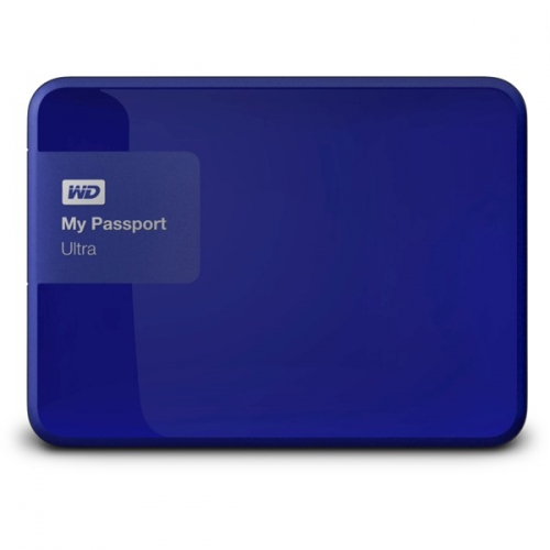 Western Digital My Passport Ultra 2TB modrý