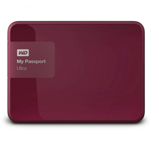 Western Digital My Passport Ultra 500GB červený