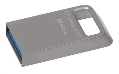 Kingston DataTraveler Micro 3.1 64GB kovový