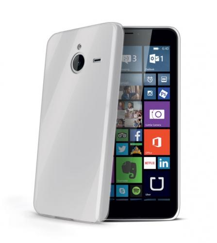 Celly Gelskin pro Microsoft Lumia 640 XL / 640 XL Dual SIM průhledný