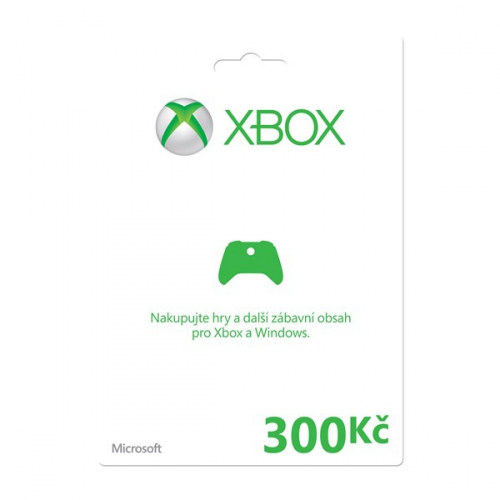 Microsoft Xbox LIVE FPP Czech Czech Republic 300 CZK