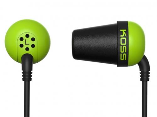 Koss The Plug (doživotní záruka) zelená
