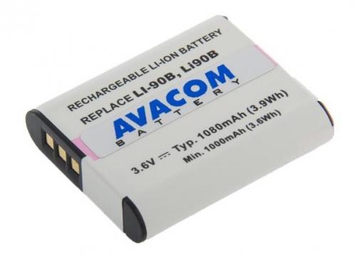 Avacom pro Olympus LI-90B/LI-92B Li-ion 3,7V 1080mAh