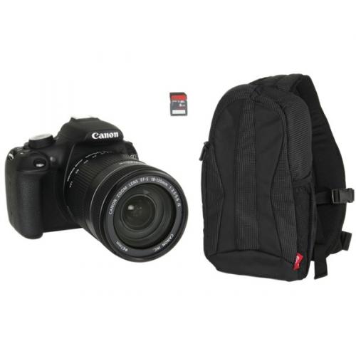 Canon 1200D + EF-S 18-135mm f/3.5-5.6 IS + 8 GB SD karta + batoh EG300